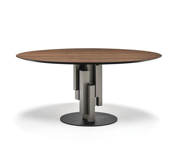 Skyline_wood_round_asztal_CattelanItalia_1